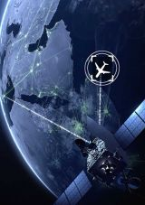 : Aircraft tracking and flight data recovery via satellite constellations